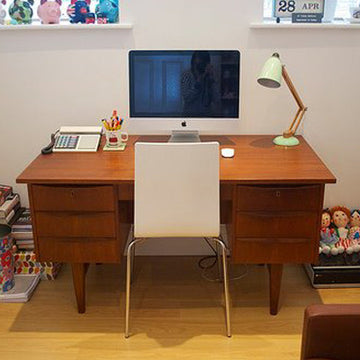 Mid century, Danish desk - fully restored