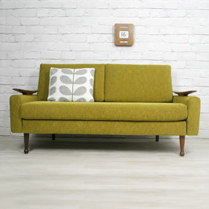 Vintage 1960s Greaves & Thomas Two Seater Sofa