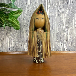 Vintage Japanese Kokeshi Doll B11a - MEDIUM
