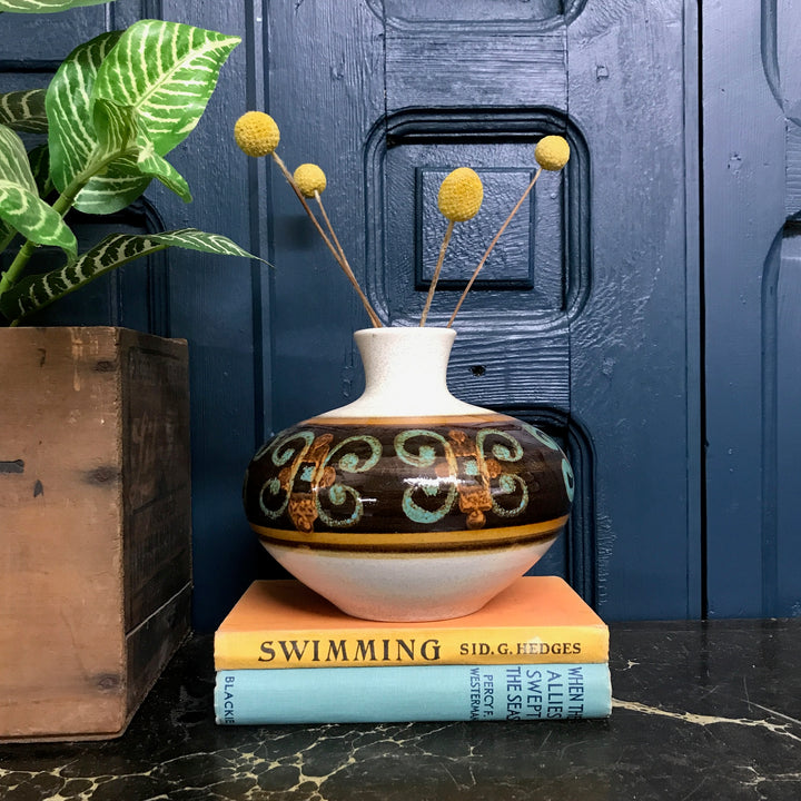 Medium Mid Century West German Ceramic Vase