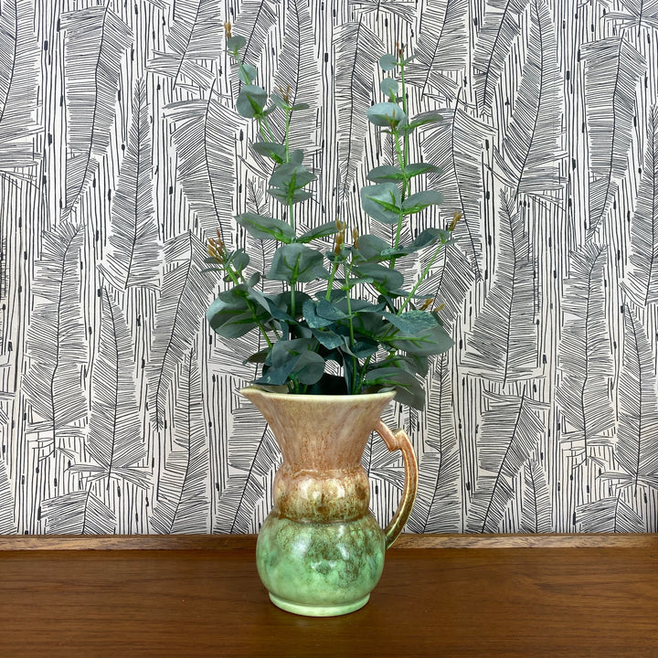 Art Deco Pink/Green Vase - Jug