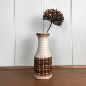 Vintage West German Ceramic Vase #1118