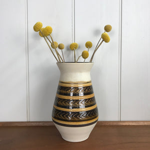 Large Mid Century West German Ceramic Vase #104/20