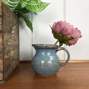 Studio Pottery Jug - Blue