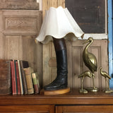 vintage_quirky_leather_boot_lamp_lighting