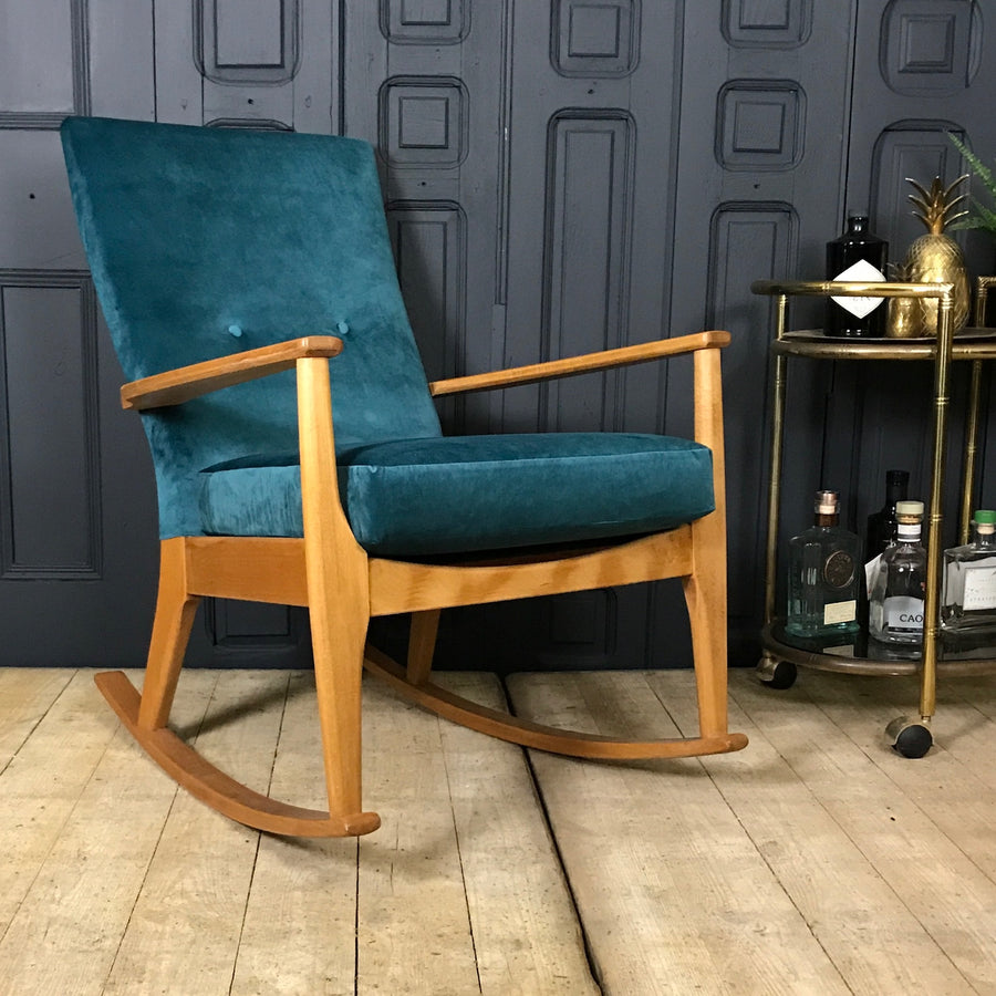 Fully Restored Parker Knoll Rocking Chair