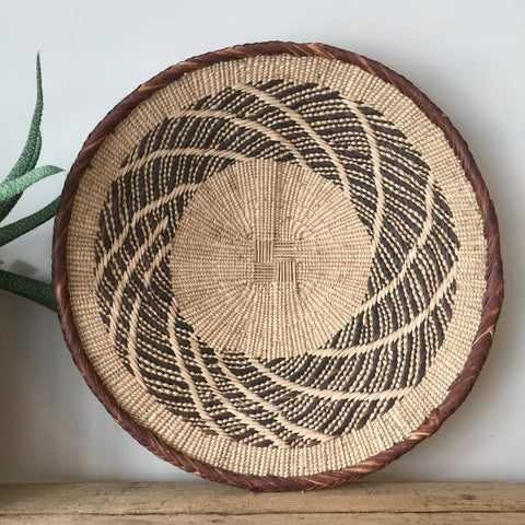 *SMALL* Vintage Handmade African Basket