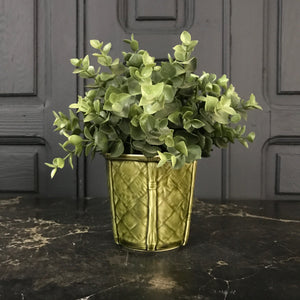 Green Mid Century Planter
