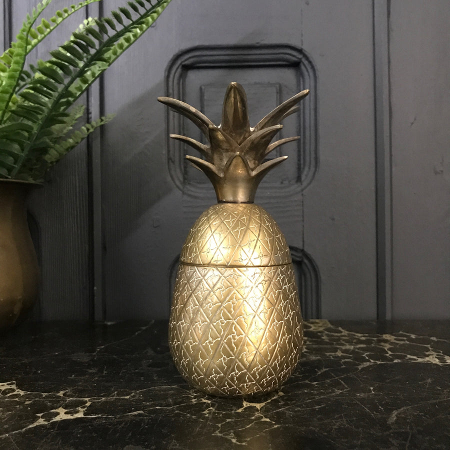 Mid Century Brass Pineapple