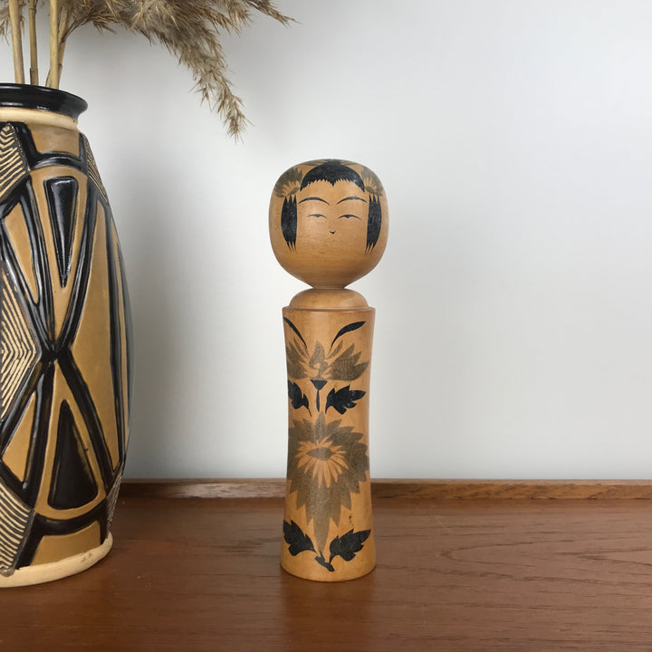 Vintage Japanese Kokeshi Doll NN2 - MEDIUM
