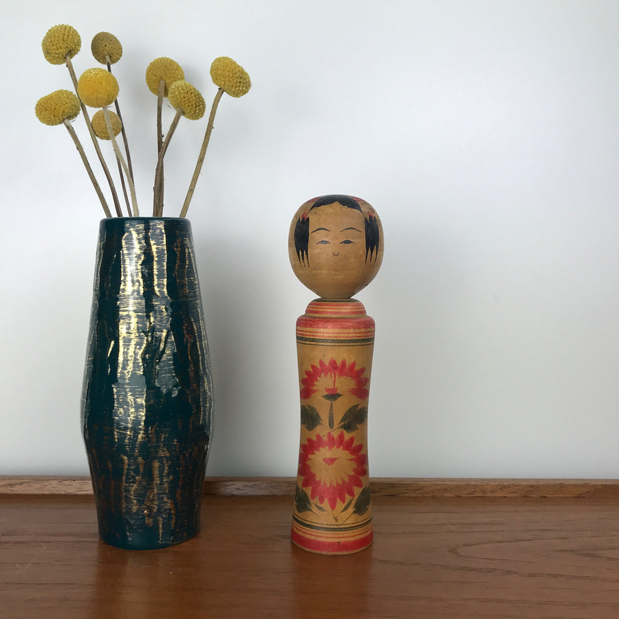 Vintage Japanese Kokeshi Doll NN1 - MEDIUM