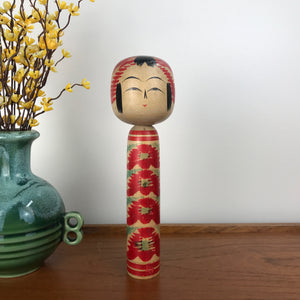Vintage Japanese Kokeshi Doll A28 - MEDIUM