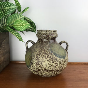 Mid Century Ceramic Pitcher Vase #U1