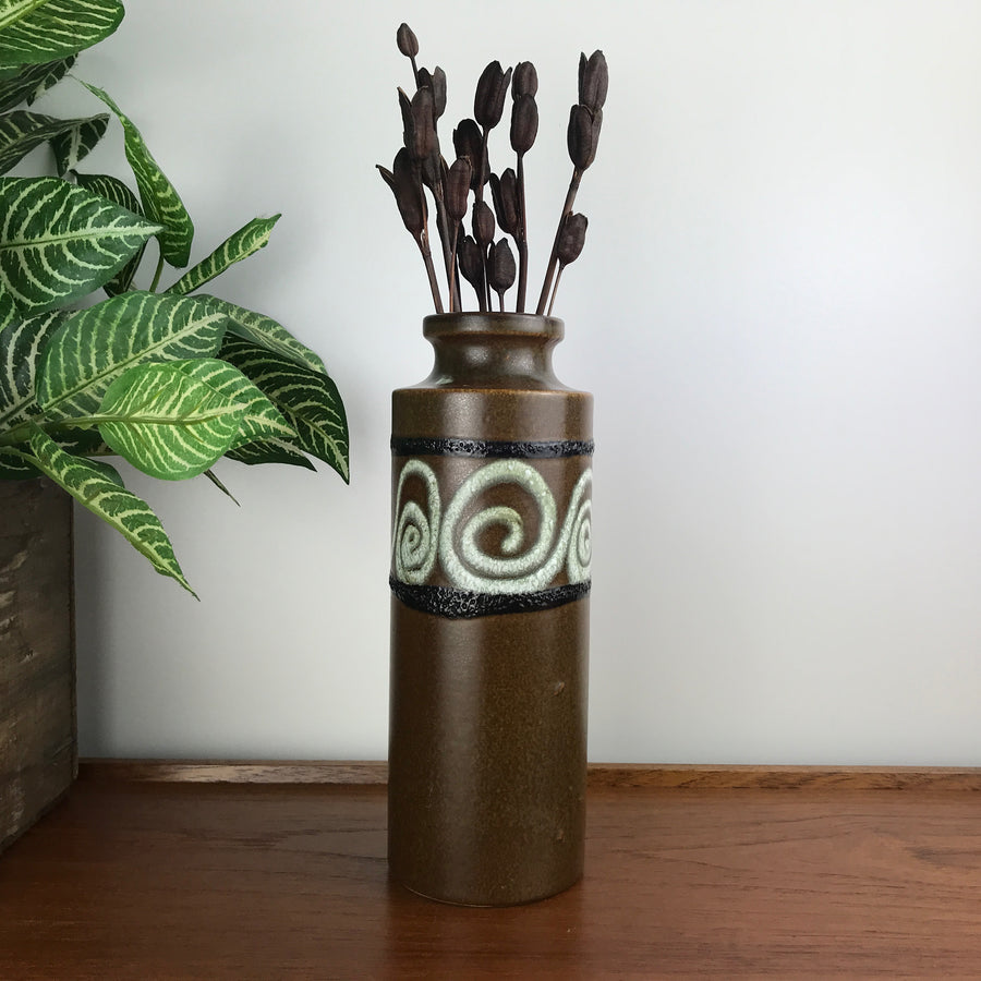 Mid Century West German Ceramic Vase #SK3