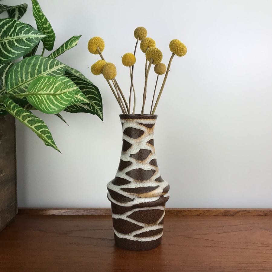 Mid Century West German Ceramic Vase #SK2