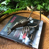 Mid Century Brass Lobster ornament or wall art