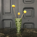 'Green Leaves' SylvaC Ceramic Vase #Small