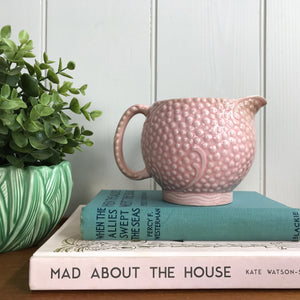 Powder Pink Ceramic Jug / Vase