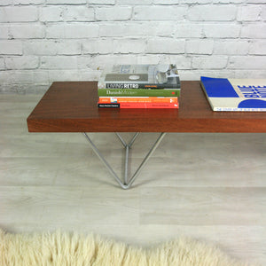 Vintage 1960s teak low bench/coffee table