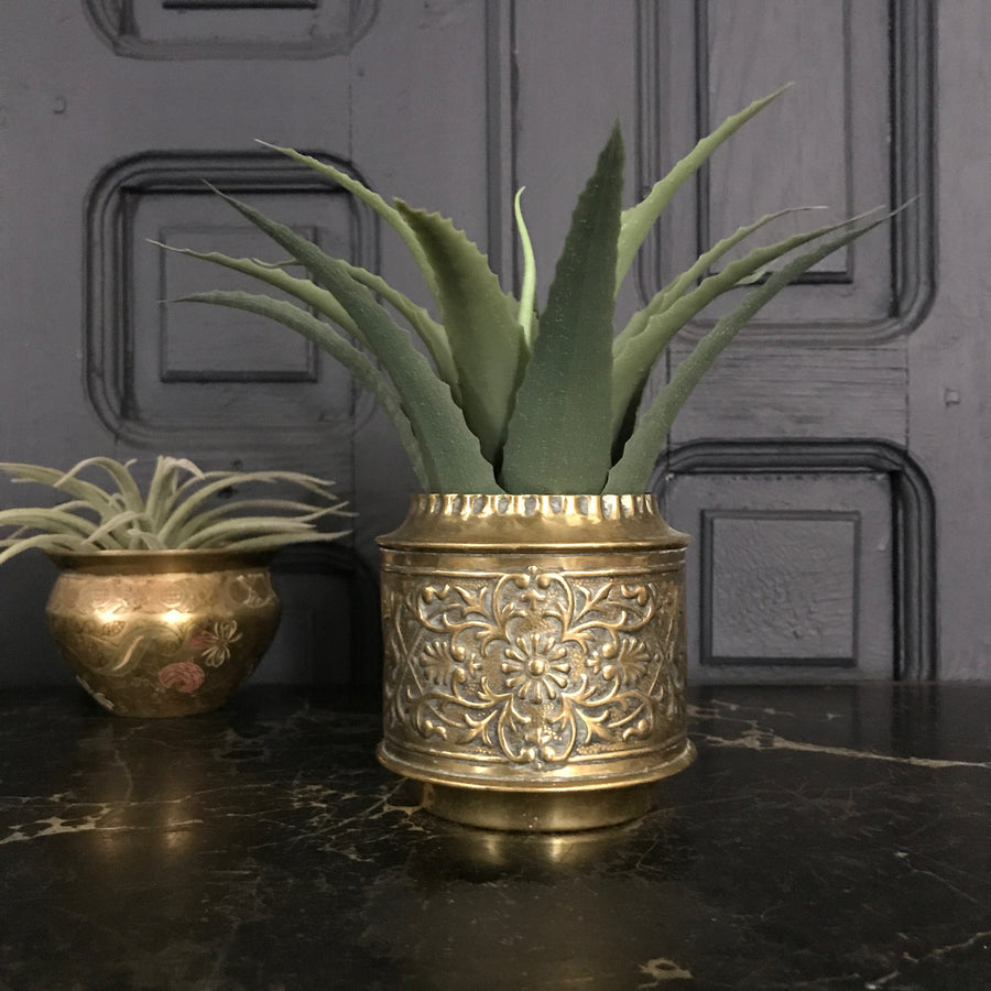 Vintage Decorative Brass Pot/Planter