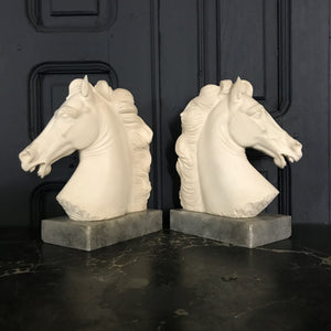 Mid Century Giannelli Horse Bookends