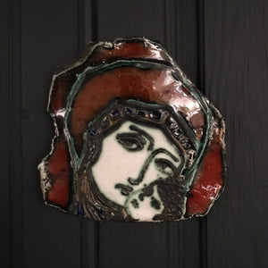 Mid Century 'Madonna & Child' Wall Plaque #A2