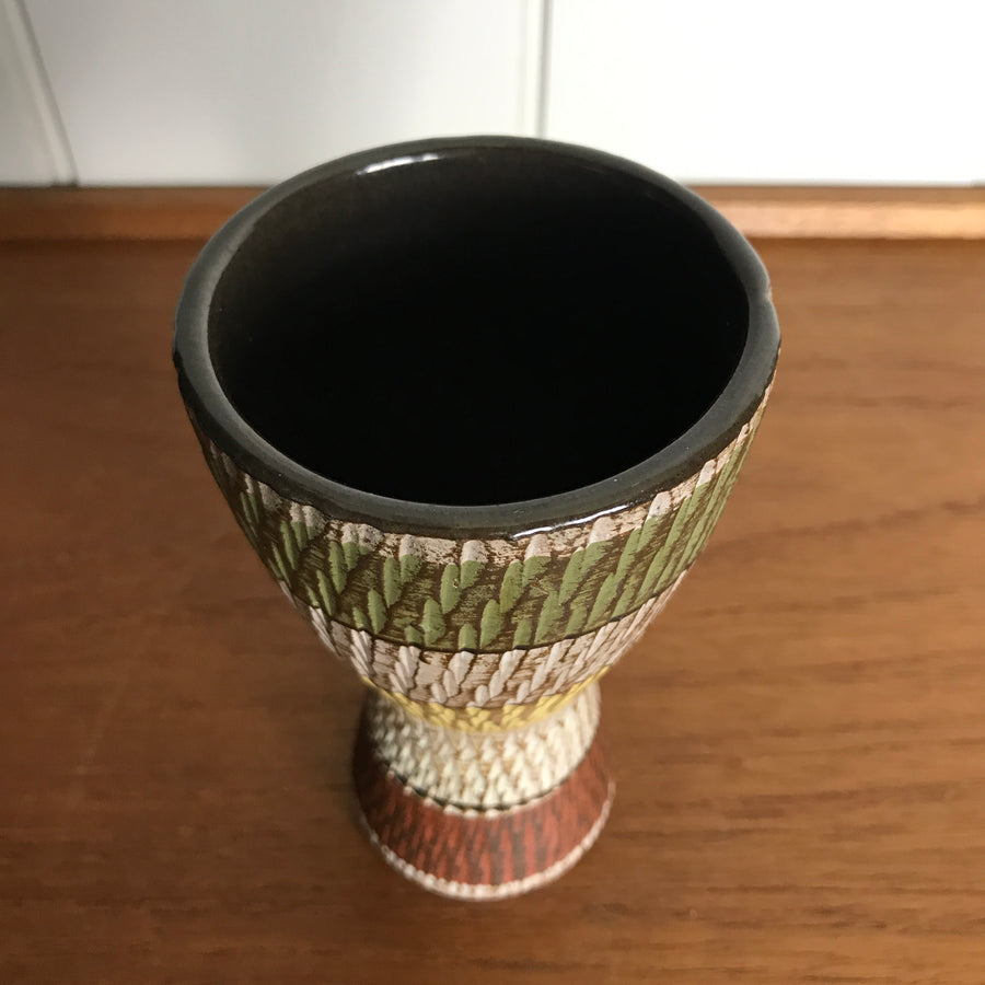 Mid Century West German Ceramic Vase #13