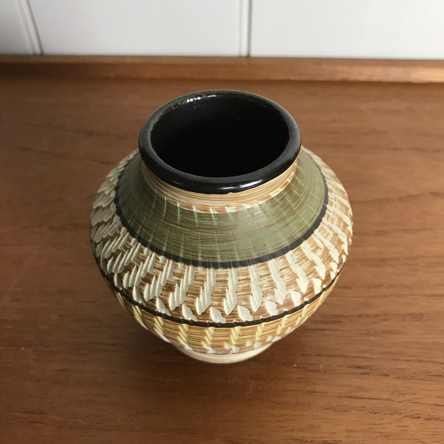 Mid Century West German Ceramic Vase #138/9