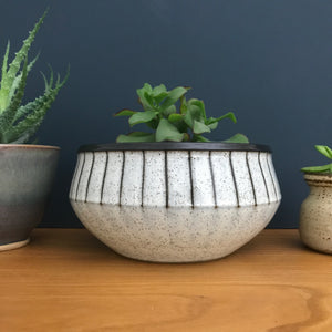 *Medium* Vintage Denby 'Studio' Ceramic Bowl/Planter