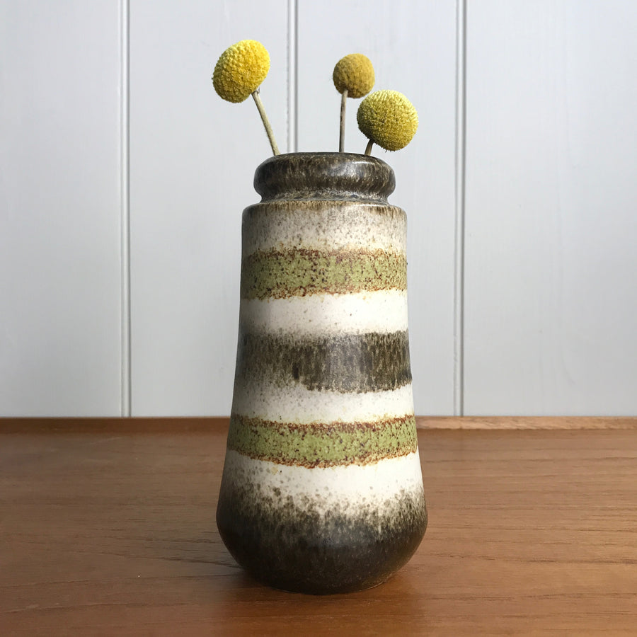 Mid Century West German Ceramic Vase #209/18