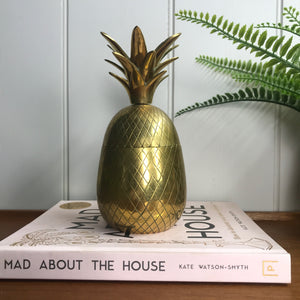 Mid Century Brass Pineapple (medium)
