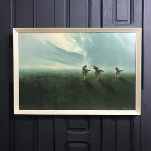 Vintage Framed 'Horses on the Plain' Framed Print