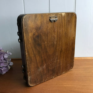 Large Wooden Cased Perpetual Calender #1910