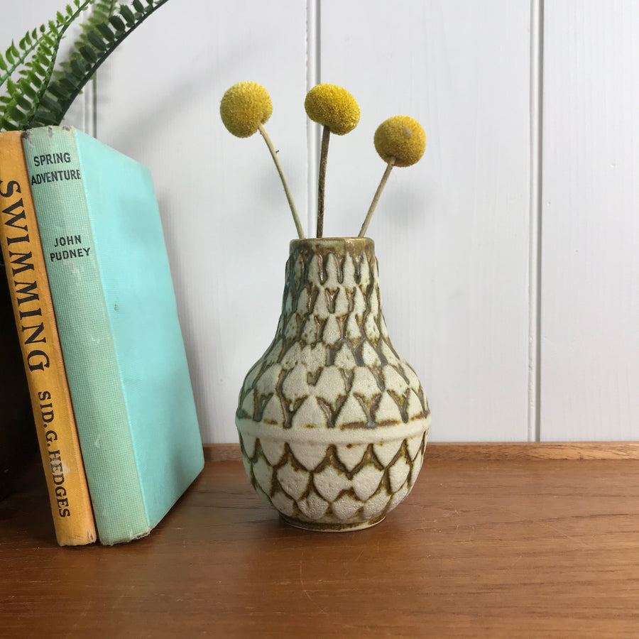 Mid Century West German Ceramic Vase #80-14