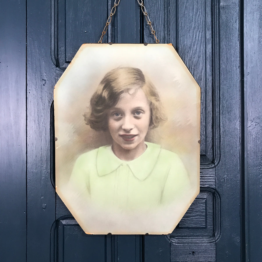 Vintage 1930s 'Young Girl' Portrait