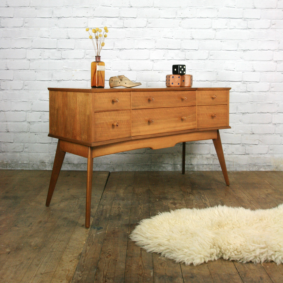 Vintage Alfred Cox Mid Century Chest of Drawers