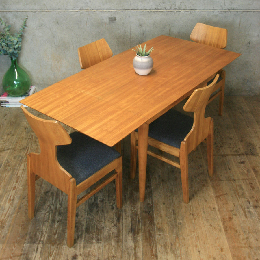 Meredew Mid Century Drop Leaf Dining Table - 2811k