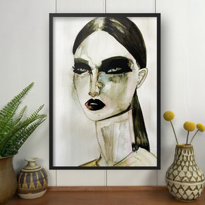 GIVENCHY Amy Beager Giclée Print on a light white interior