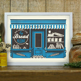 'Bakery' screenprint by James Brown