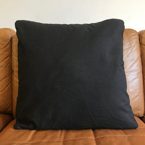 Black Mud Cloth Cushion Cover - 50cm x 50cm - Print #3