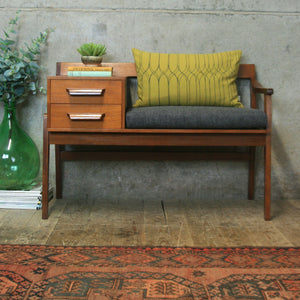 chippy_heath_teak_telephone_seat_mid_century