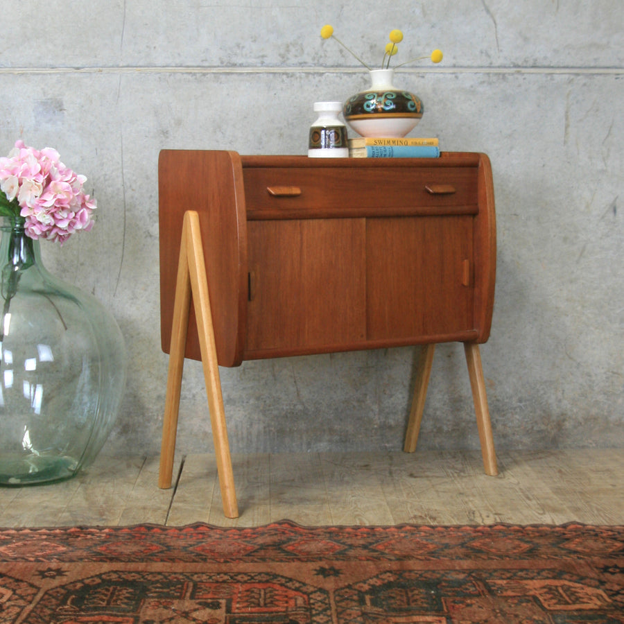 danish_teak_mid_century_sewing_cabinet_bedside_table