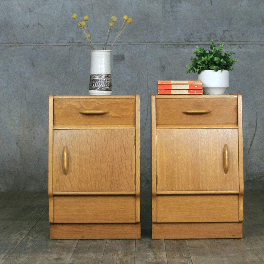 A Pair of Mid Century E-Gomme Bedside Tables