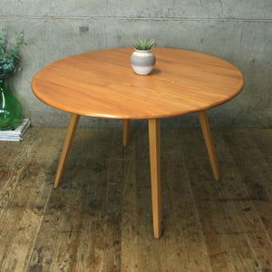 Vintage Ercol Model 384 Drop Leaf Dining Table - 1308d