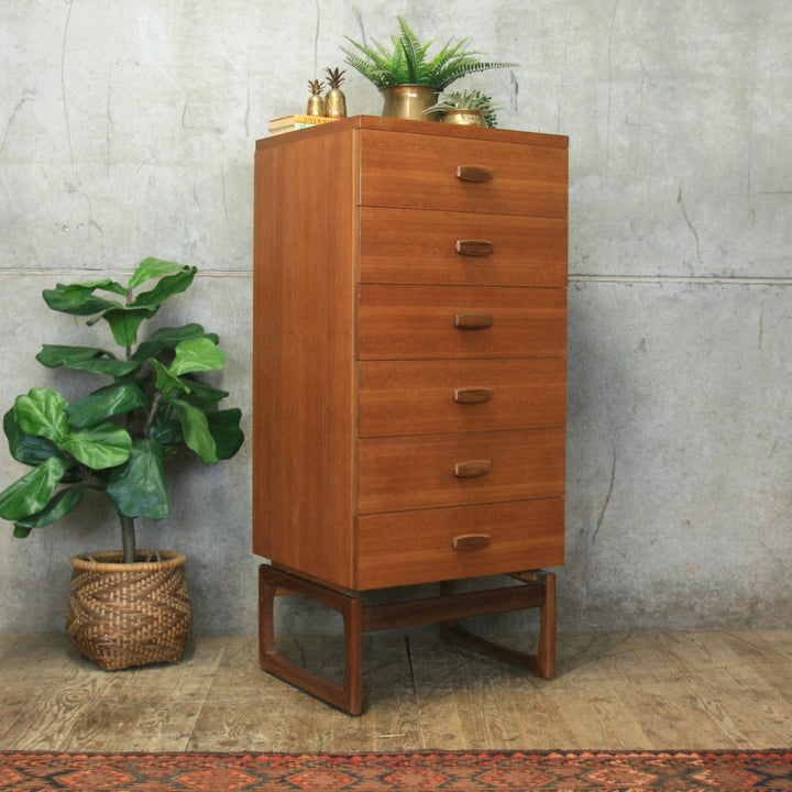 g_plan_e_gomme_teak_quadrille_tallboy_drawers