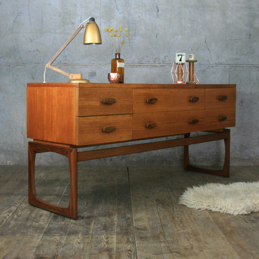 G-Plan Quadrille Large Teak Chest of Drawers