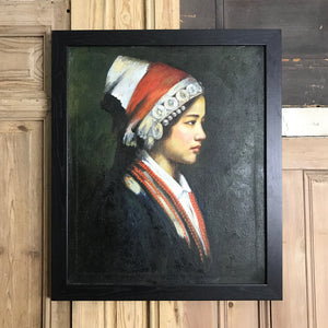 Framed Portrait Oil Painting #2 (Pair available)