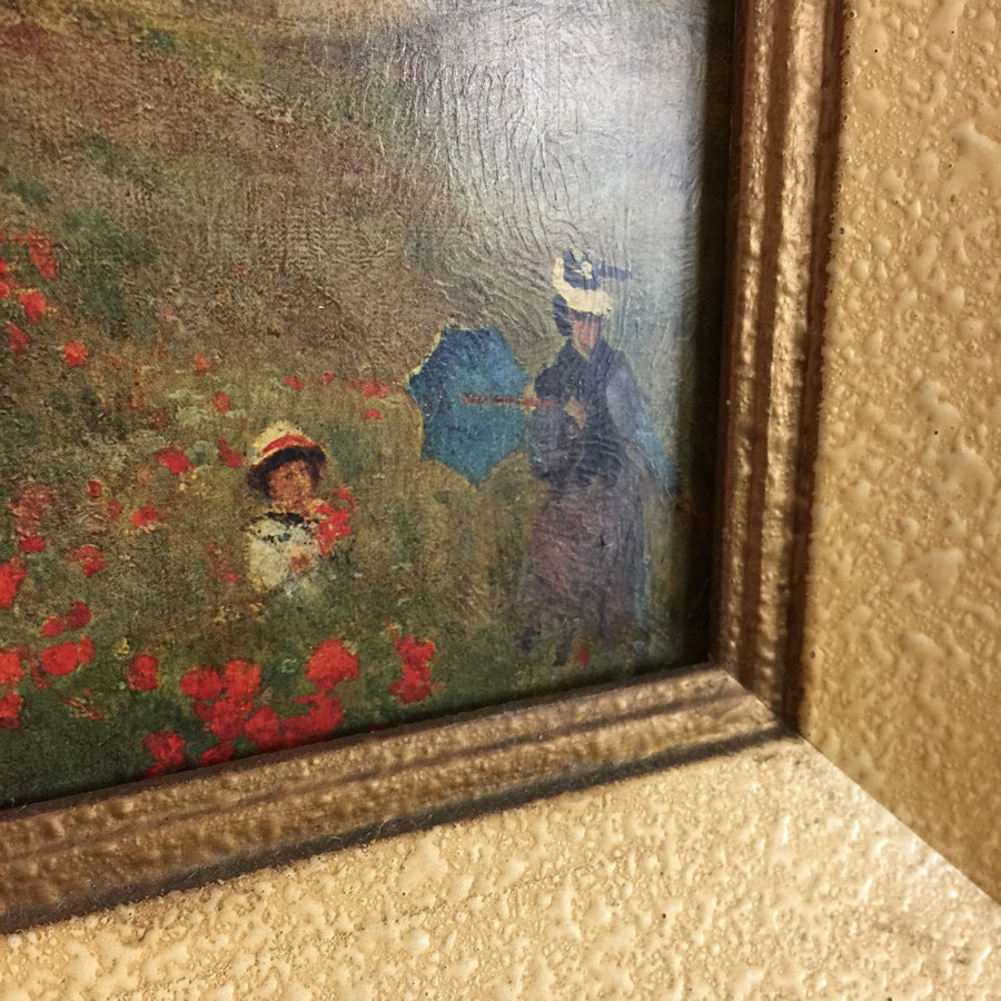 Vintage framed Claude Monet Print