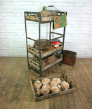 Industrial Steel Kitchen/Retail/Restaurant Display Trolley **Made to Order**
