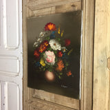 Vintage Oil Painting on Canvas 410x510mm